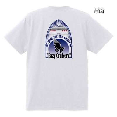 カーショー 白 Tシャツ 04 祈り Eazy Cruise アメ車 イージークルーズ 横須賀 ホットロッド ローライダ