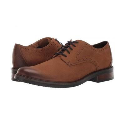 Bostonian ボストニアン メンズ 男性用 シューズ 靴 オックスフォード 紳士靴 通勤靴 Maxton Plain - Tan Nubuck
