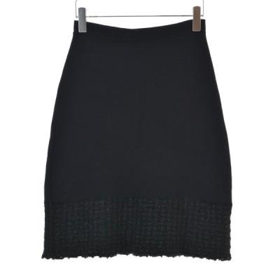 【期間限定値下げ】JULIEN MACDONALD ツイード切替ウール スカート