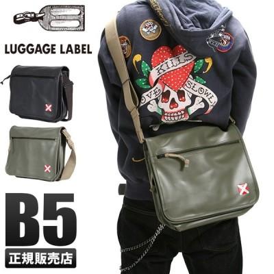 吉田カバン ラゲッジレーベル ライナー ショルダーバッグ メンズ レディース 赤バッテン B5 LUGGAGE LABEL 951-09236