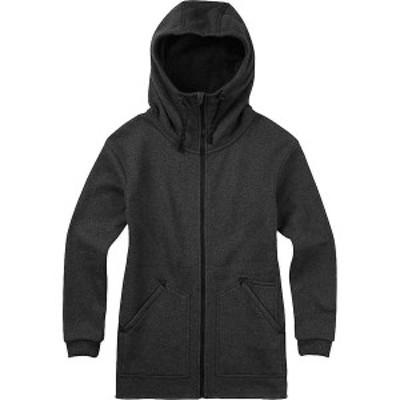 バートン レディース ジャケット・ブルゾン アウター Burton Women's Minxy Fleece Jacket True Black Heather