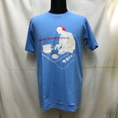 送料無料 メンズ レディース ユニセックス TシャツUNFLEDGED 半袖 キッチン DJ トップス カットソー サックス フェス アウトドア