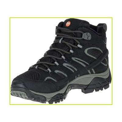 (6.5 UK, Black (Black)) - Merrell Women's Moab 2 Mid GTX High Rise Hiking Boots【並行輸入品】