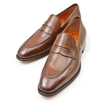 サントーニ Santoni ドレスシューズ 靴 メンズ 06949XB2IOENS55 ブラウン 目玉商品17AW