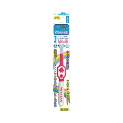 POTATAN(ポタタン)フッ素配合子供用歯ブラシ PT-3 ふつう 2才〜用