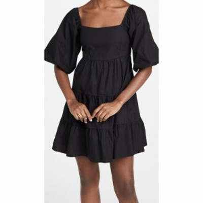 フェイスフルザブランド FAITHFULL THE BRAND レディース ワンピース ミニ丈 ワンピース・ドレス Eryn Mini Dress Plain Black