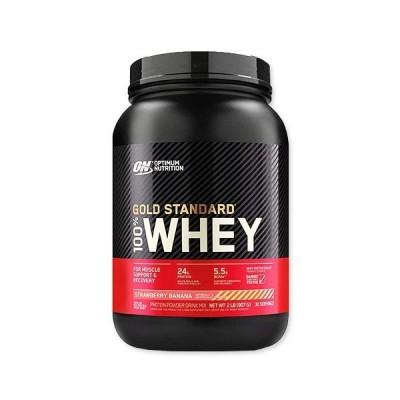 [NEW]ゴールドスタンダード ホエイ プロテイン ストロベリーバナナ 907g 30回分 Optimum Nutrition(オプティマムニュートリション)