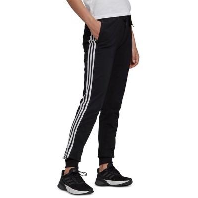 アディダス カジュアルパンツ ボトムス レディース Women's Slim-Fit Athletic Full Length Pants Black/white