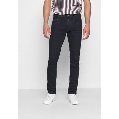 リプレイ デニムパンツ メンズ ボトムス ANBASS AGED - Slim fit jeans - dark blue