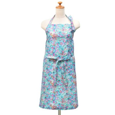 M / mika ninagawa × COLORFUL CANDY STYLE エプロン ブルー・ピンク (レディース 蜷川実花)