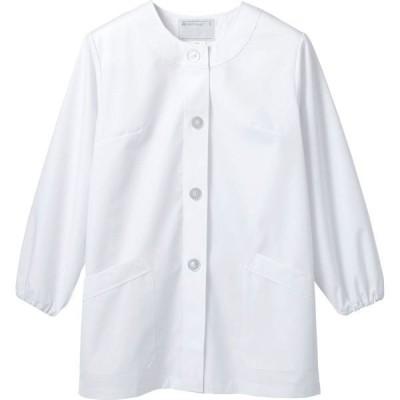 調理衣 1-031 レディース 長袖 抗菌 O-157対応 厨房白衣 厨房服 調理服 板前服 飲食 和食 住商モンブラン