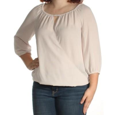 レディース 衣類 トップス INC Womens Gray Long Sleeve Keyhole Top Size: XL ブラウス&シャツ