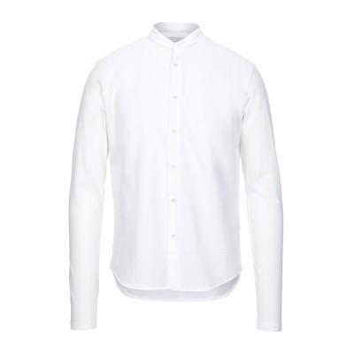 マジェスティック MAJESTIC FILATURES シャツ ホワイト M コットン 100% シャツ