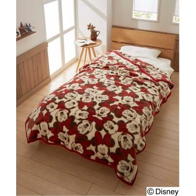 ディズニー 「ミッキー。ミニー。ドナルド」選べる3柄あたたかニューマイヤー毛布 毛布・ブランケット, Beddings, 寝具(ニッセン、nissen)