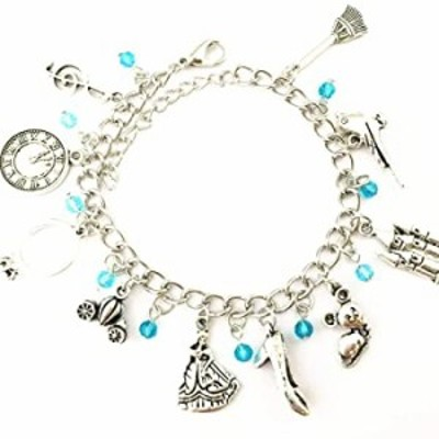 Universe of Fandoms Anime cartoon Cinderella princess Charm Bracelet Gifts for Women girl