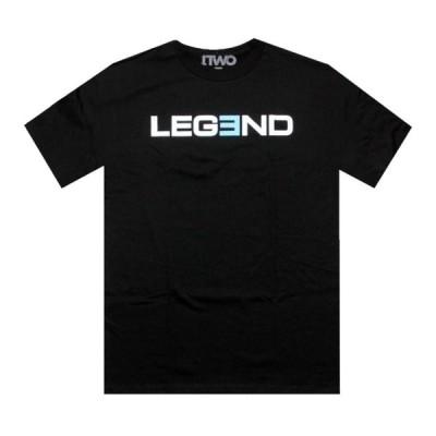 ポピュラーデマンド Popular Demand メンズ Tシャツ トップス 1TWO Legend Tee black