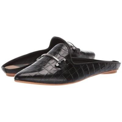ドルチェヴィータ Dolce Vita レディース スリッポン・フラット シューズ・靴 Gram Black Croco Embossed Leather