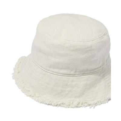帽子 ハット ダメージ加工バケットハット