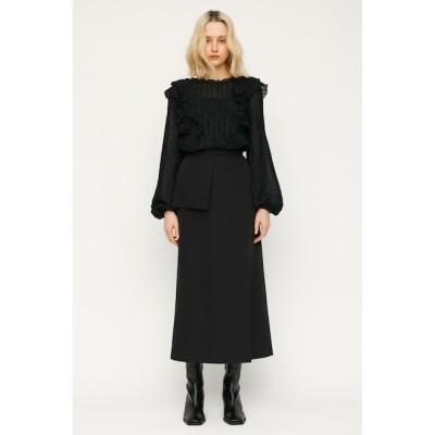 【スライ/SLY】 A-LINE BELT POCKET ロングスカート