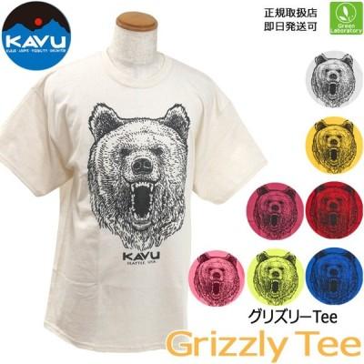 カブー KAVU グリズリーTシャツ (メンズ) Grizzly Tee Men's アウトドア タウンユース ベアー 19821232