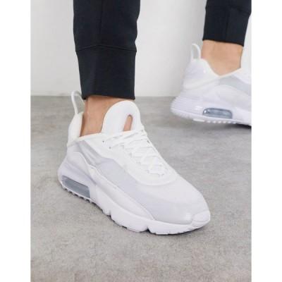 ナイキ メンズ スニーカー シューズ Nike Air Max 2090 sneakers in white White