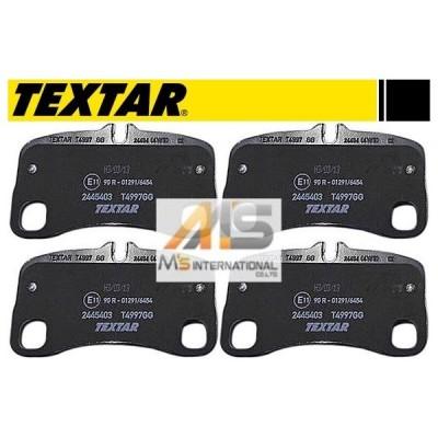 【M's】ポルシェ 911 997/TEXTAR製 リア用 ブレーキパッド(左右)//純正OEM 3.6カレラ/3.6カレラ4/タルガ4/3.6ターボ/3.8ターボ/3.6GT3/GT3RS/3.8GT3