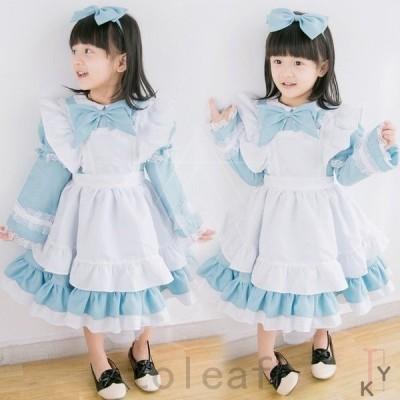 子どもドレス大人ロリータ貴族cosplayLolitaステージドレスコスプレドレス復古風キッズ洋服ドレス子供可愛いワンピース森ガール