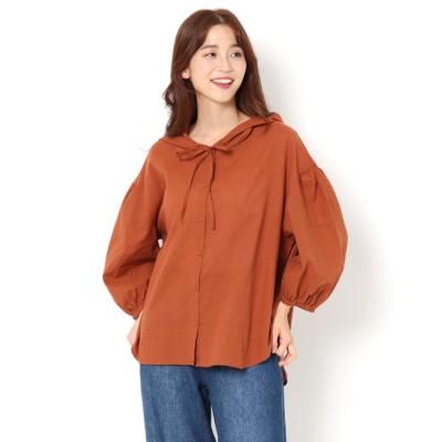 【サマンサモスモス/Samansa Mos2】 フードシャツ