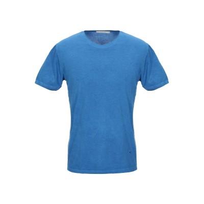 DIKTAT T シャツ アジュールブルー S コットン 100% T シャツ