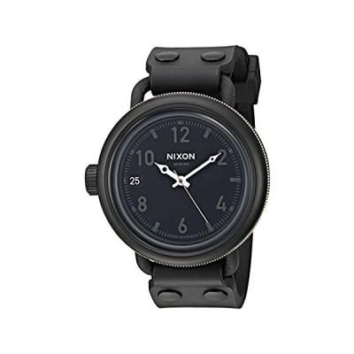 【新品・送料無料】Nixon Men 's 10月Watch One Size Matte Black/Industrial Green