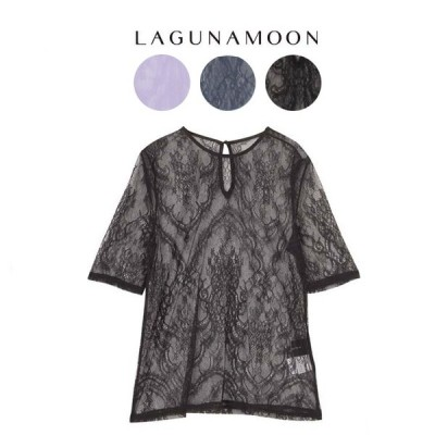 SALE40%OFF LagunaMoon ラグナムーン LADYレースTOPS 031940400801/031910401001/031910401001