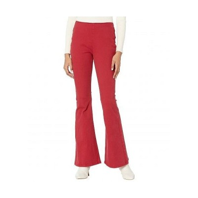 Rock and Roll Cowgirl ロックンロールカウガール レディース 女性用 ファッション ジーンズ デニム Mid-Rise Pull-On in Scarlet WPH6120 - Scarlet