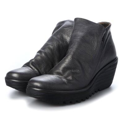 ヨーロッパコンフォートシューズ EU Comfort Shoes FLYLONDON ショートブーツ(500.505) (グレー)