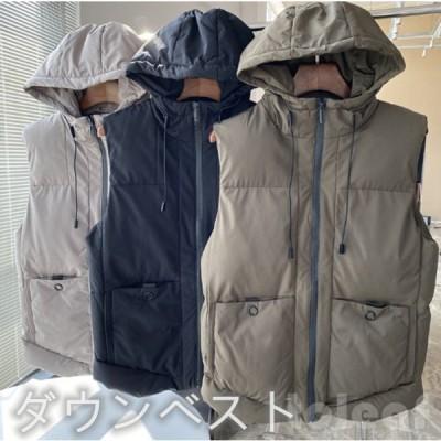 ジャケット通勤メンズダウンベスト大きいサイズ任意の組み合わせ厚手のデザイン磨耗に耐える秋冬ジャケット