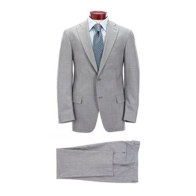 ハート シャフナー マルクス メンズ ジャケット・ブルゾン アウター Classic Fit Grey Solid Wool Blend Suit