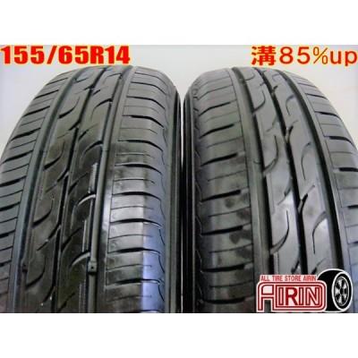 155/65R14 KUMHO SENSE SE11 中古 夏タイヤ 2本セット N-BOX ekワゴン ワゴンR ウェイク タントなど軽自動車に 中古タイヤ 14インチ