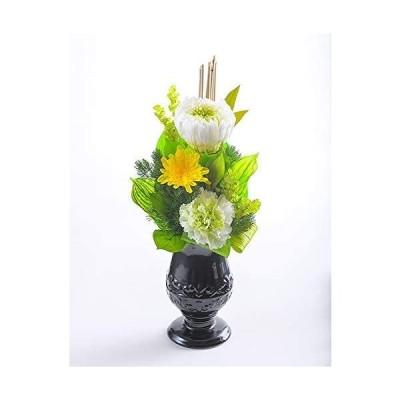 プリザーブドフラワー-昇華(しょうか)【グリーン】-お悔やみ-お供え花-ケース入り
