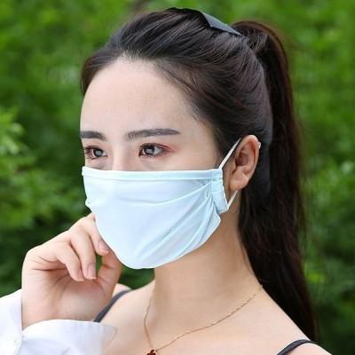 【翌日出荷】洗えるマスク1枚 大人用 個包装 冷たいランニング運動 レディース 個別包装 清涼 繰り返し