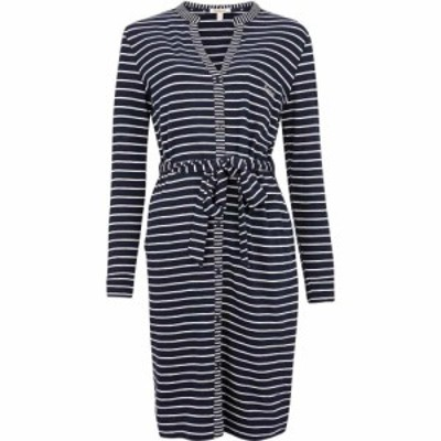 バブアー Barbour レディース ワンピース ワンピース・ドレス Auklet Stripe Dress Navy Stripe