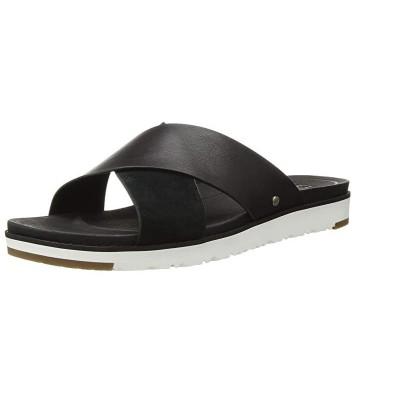 [米国最新商品] [米国直送][無料配送] UGG Womens Kari Metallic Sandal UGG女性カリメタリックセンタ