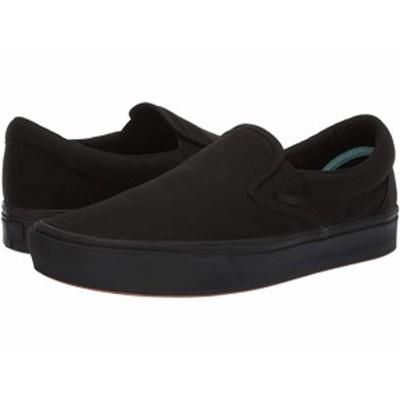 (取寄)バンズ ユニセックス コンフィクッシュ スリップオン Vans Unisex ComfyCush Slip-On (Classic) Black/Black