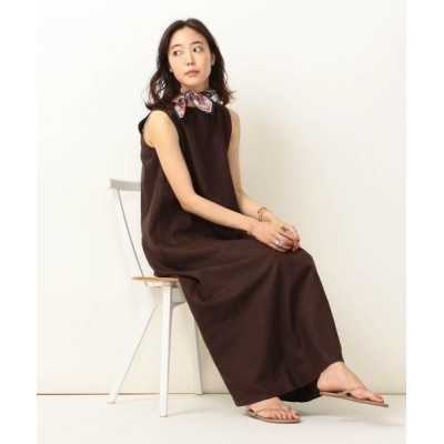SHIPS for women/シップスウィメン SHIPS any:Aラインマキシワンピース ブラウン ONE SIZE
