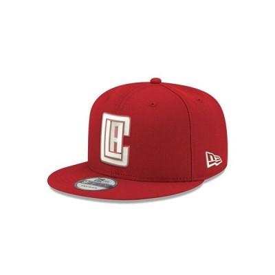 ニューエラ 帽子 アクセサリー レディース Los Angeles Clippers C-Dub 9FIFTY Cap Red