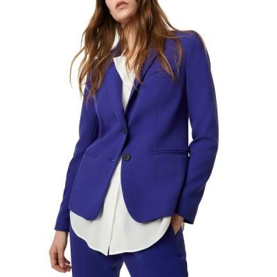 フレンチコネクション レディース ジャケット&ブルゾン アウター Sundae Suiting Single Breasted Jacket BLUE ELECT