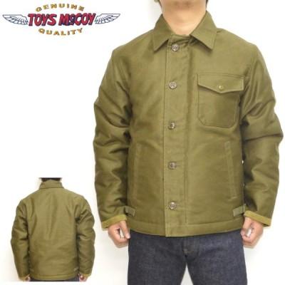 トイズマッコイ TOYS McCOY TMJ2034 A-2 デッキジャケット シビリアンモデル プレーン DECK JACKET CIVILIAN MODEL アウター