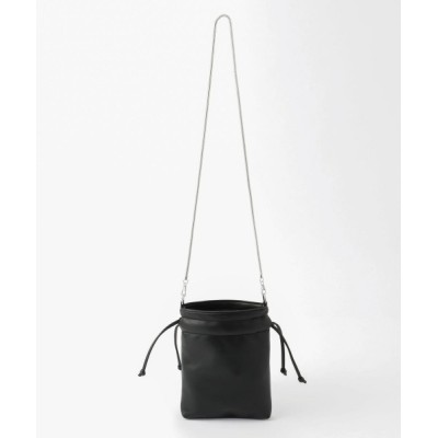 UNRELISH / シャイニー巾着身ミニショルダーバッグ WOMEN バッグ > ショルダーバッグ