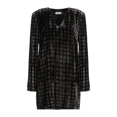SIYU ミニワンピース&ドレス ミリタリーグリーン 40 レーヨン 82% / シルク 18% ミニワンピース&ドレス