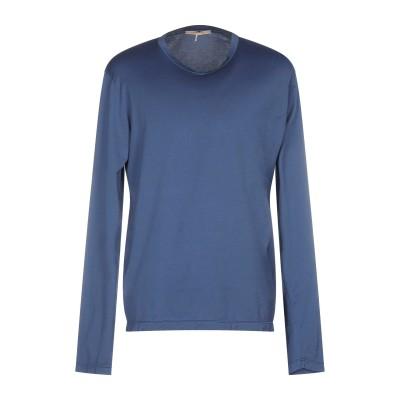カポビアンコ CAPOBIANCO T シャツ ブルーグレー 48 コットン 100% T シャツ