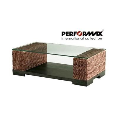 アジアン家具 ウォーターヒヤシンス ソファ テーブル ローテーブル リゾート 高品質 PERFORMAX ガラス天板 受注生産品