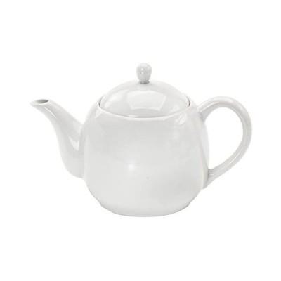 うま茶 MF ポット (筒型茶こし付き) ホワイト 050783 (ホワイト)